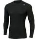 Aclima M's LightWool Crew Neck JetBlack